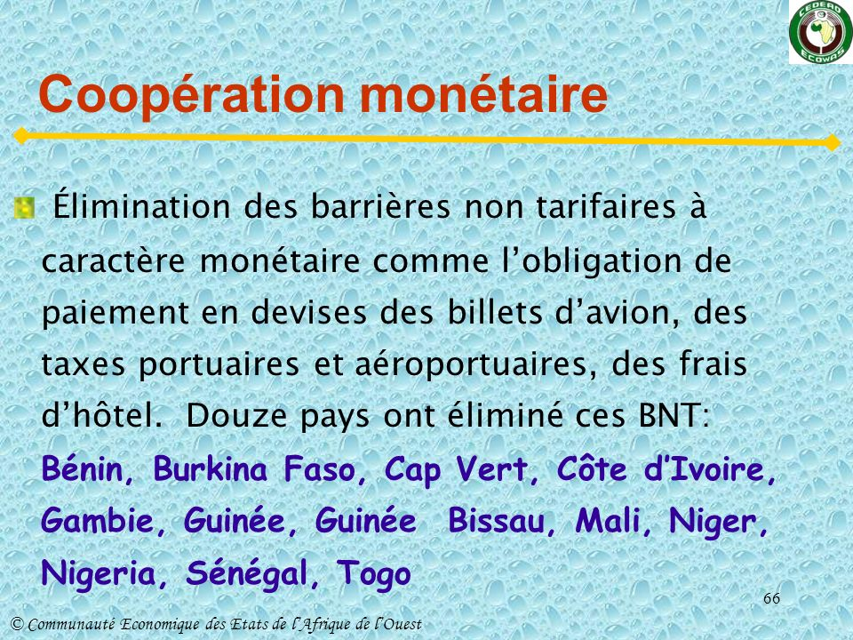 Coopération monétaire