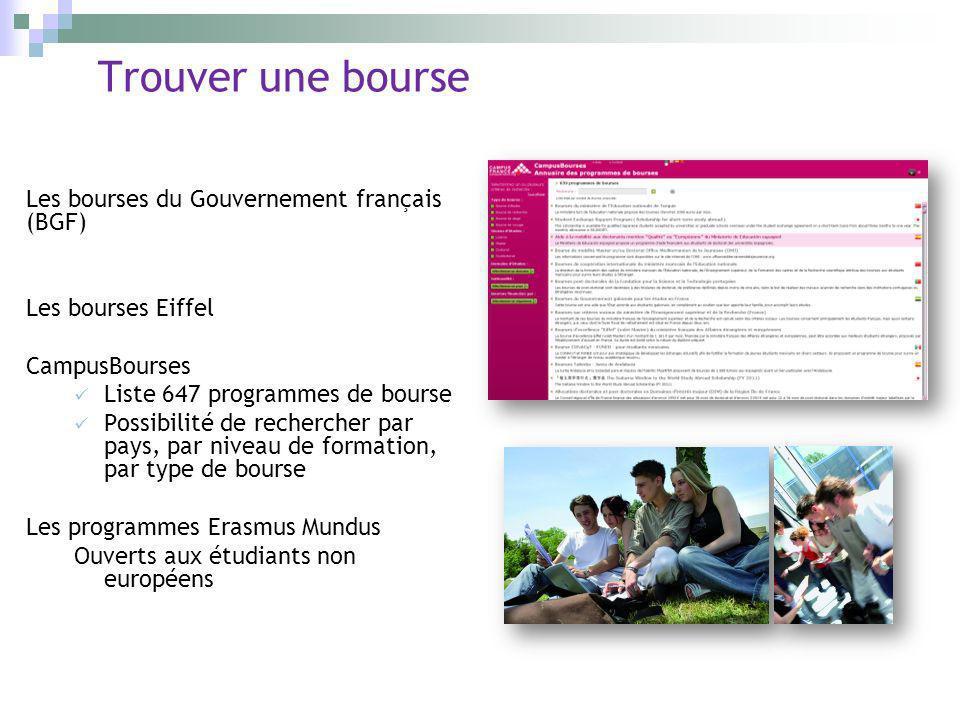 Trouver une bourse Les bourses du Gouvernement français (BGF)