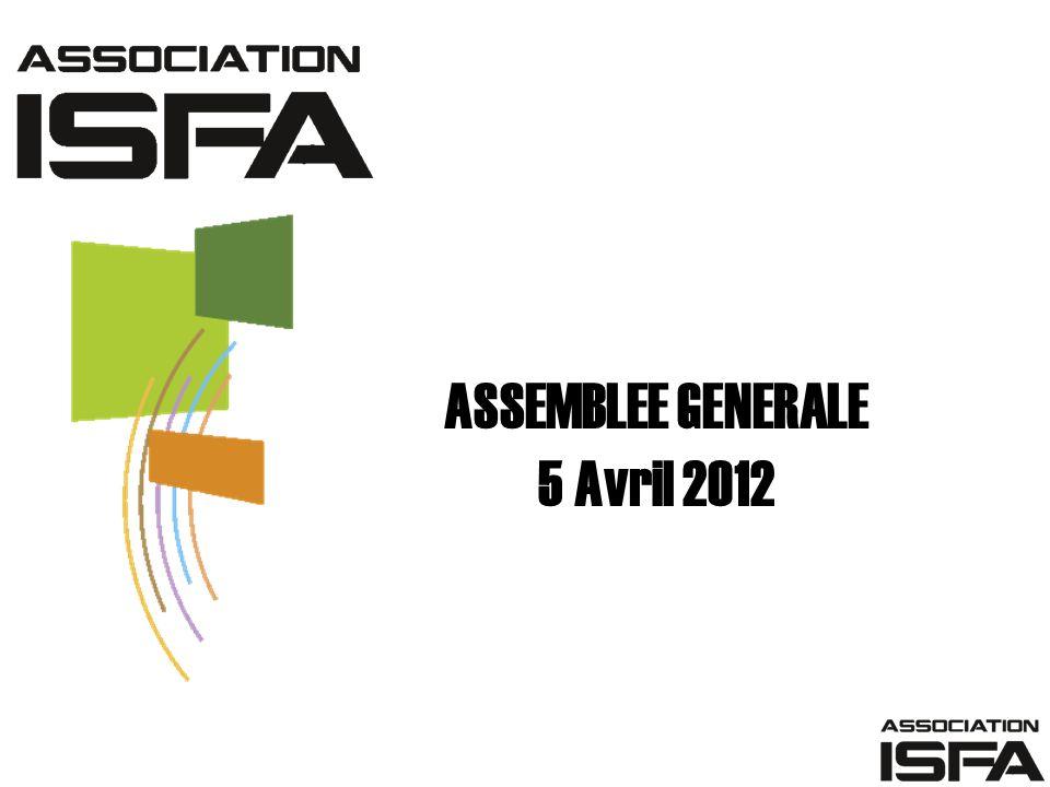 ASSEMBLEE GENERALE 5 Avril 2012
