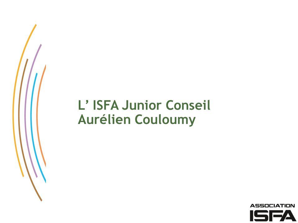 L' ISFA Junior Conseil Aurélien Couloumy