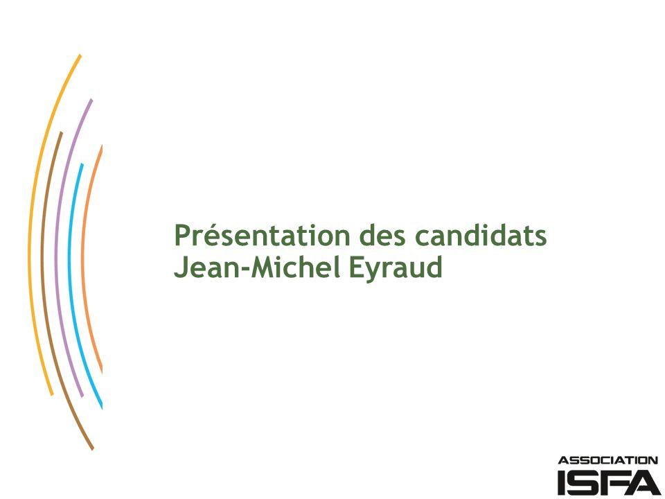 Présentation des candidats
