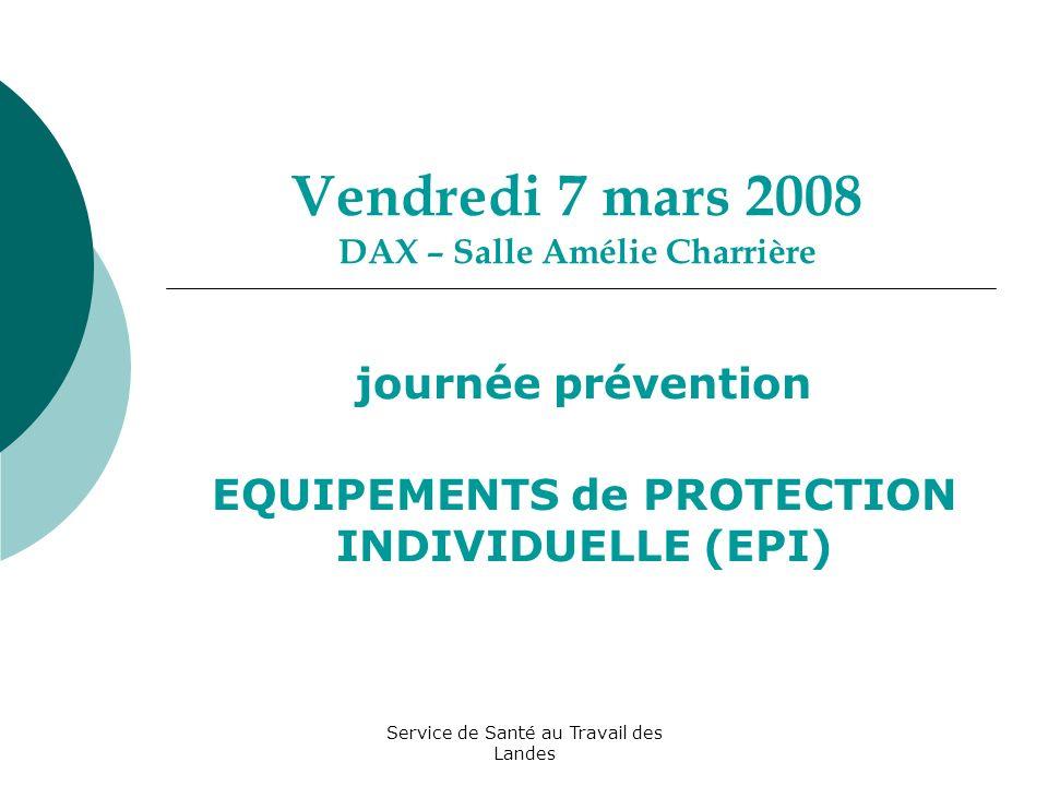 Vendredi 7 mars 2008 DAX – Salle Amélie Charrière