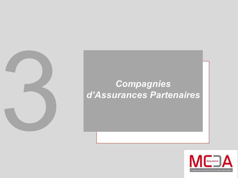 Compagnies d'Assurances Partenaires