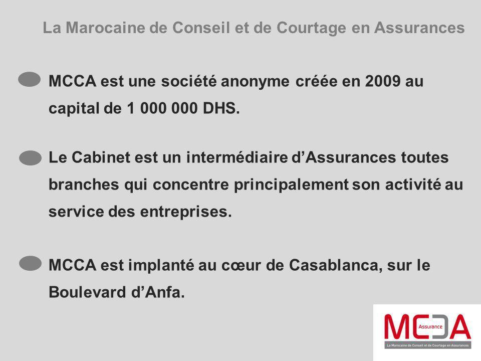 La Marocaine de Conseil et de Courtage en Assurances
