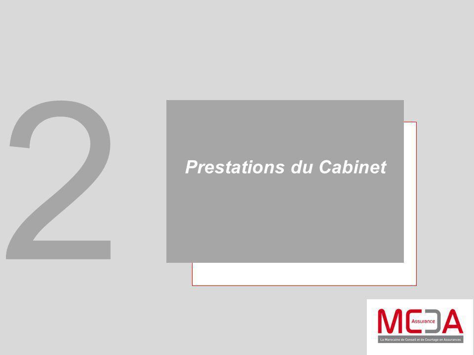 Prestations du Cabinet