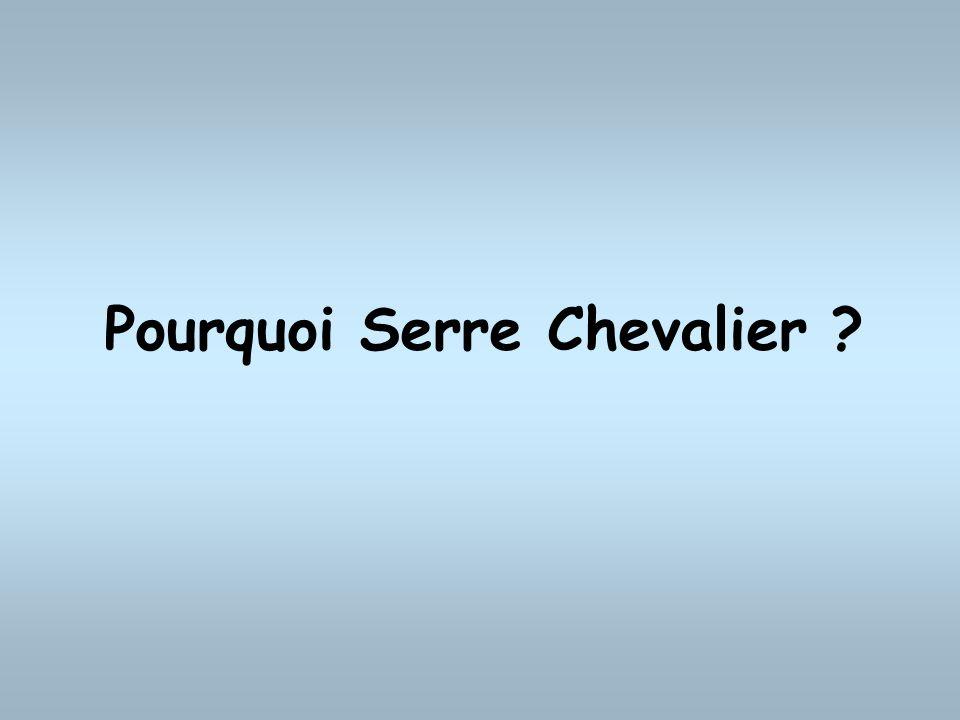 Pourquoi Serre Chevalier