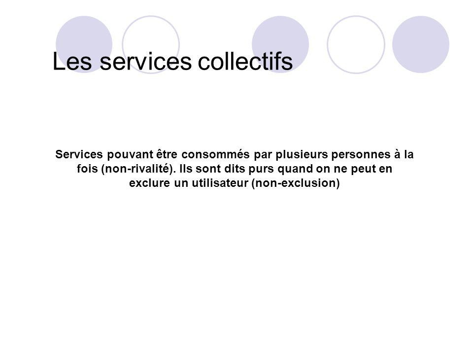 Les services collectifs