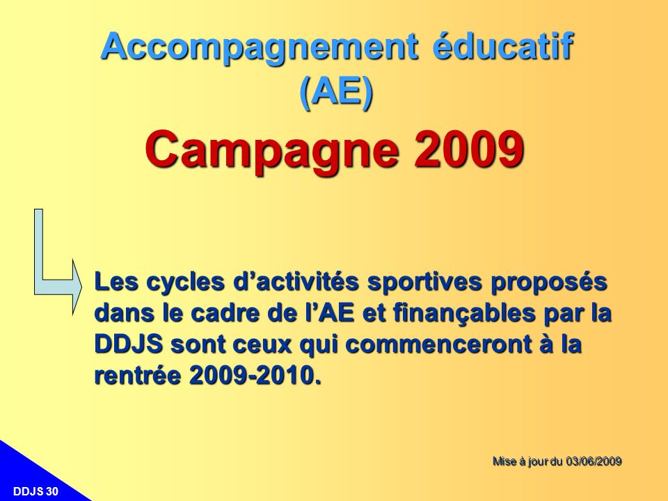 Accompagnement éducatif (AE)