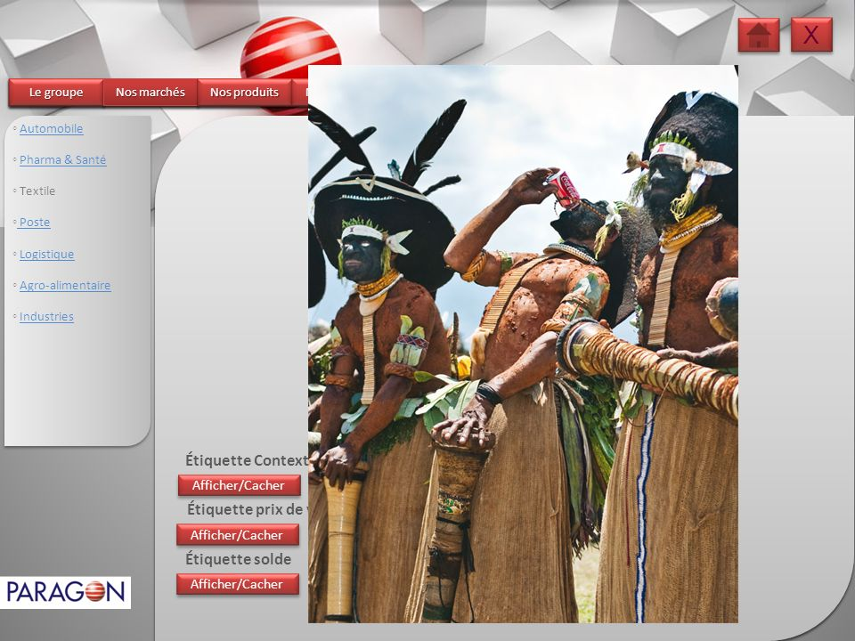 X Textile Étiquette Contexteur Étiquette prix de vente Étiquette solde