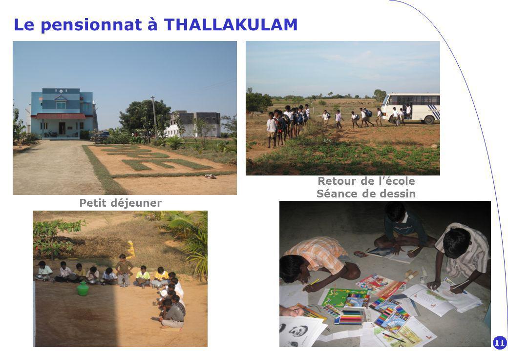 Le pensionnat à THALLAKULAM