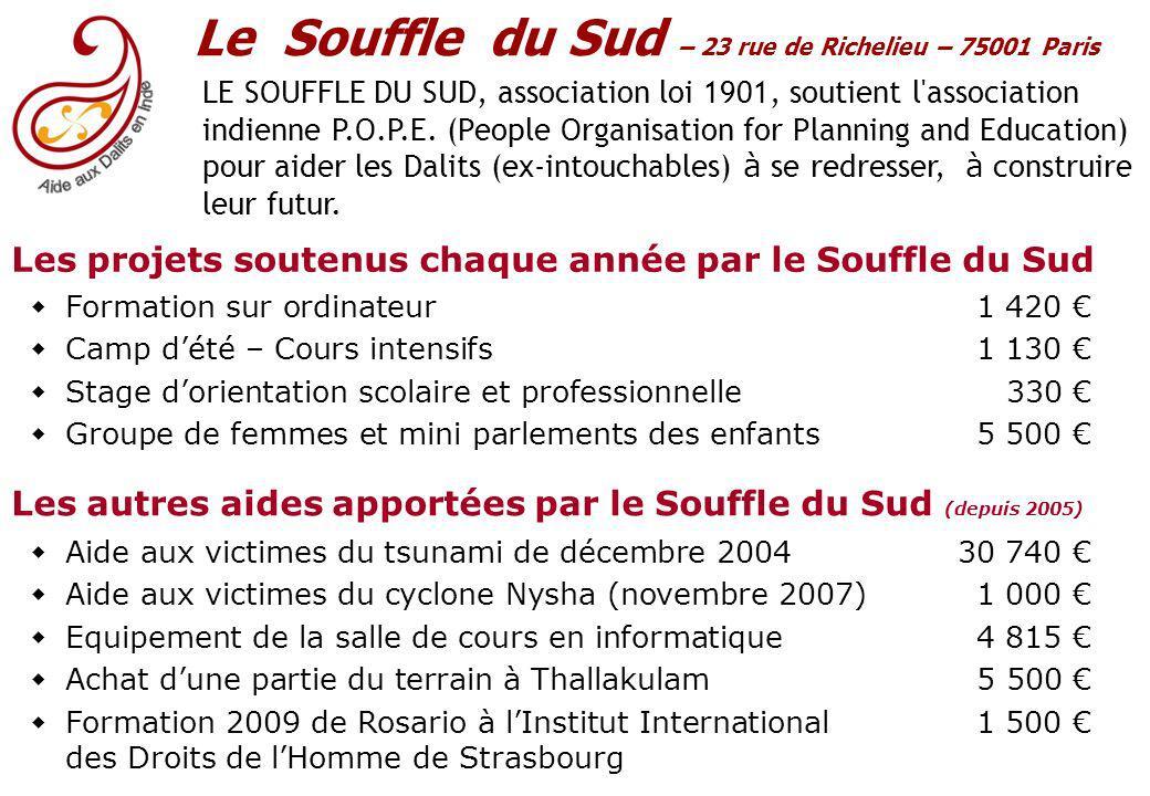 Le Souffle du Sud – 23 rue de Richelieu – 75001 Paris