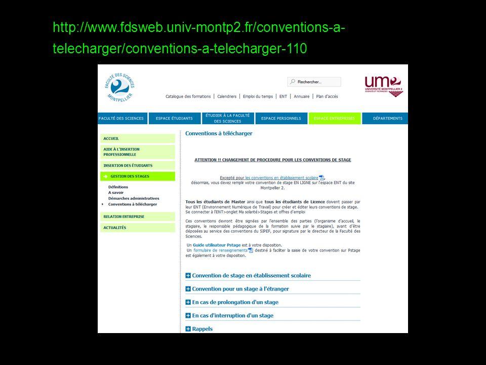 http://www. fdsweb. univ-montp2