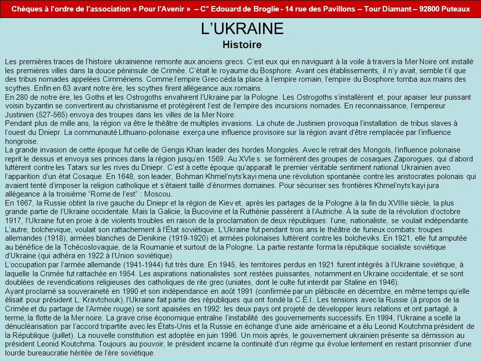 L'UKRAINE Histoire