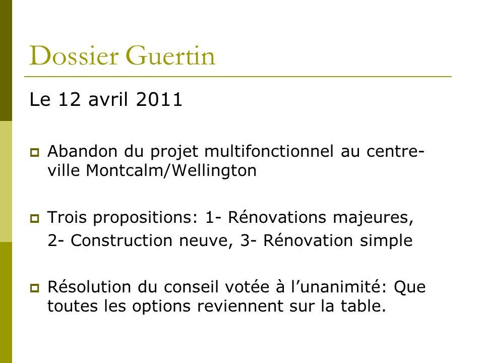 Dossier Guertin Le 12 avril 2011