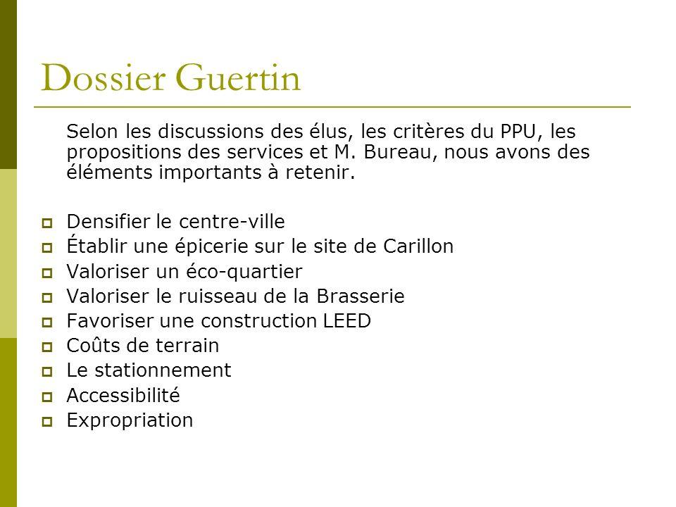 Dossier Guertin