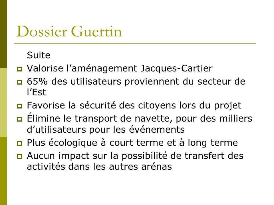 Dossier Guertin Suite Valorise l'aménagement Jacques-Cartier