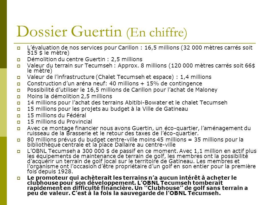 Dossier Guertin (En chiffre)