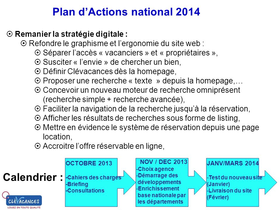Plan d'Actions national 2014