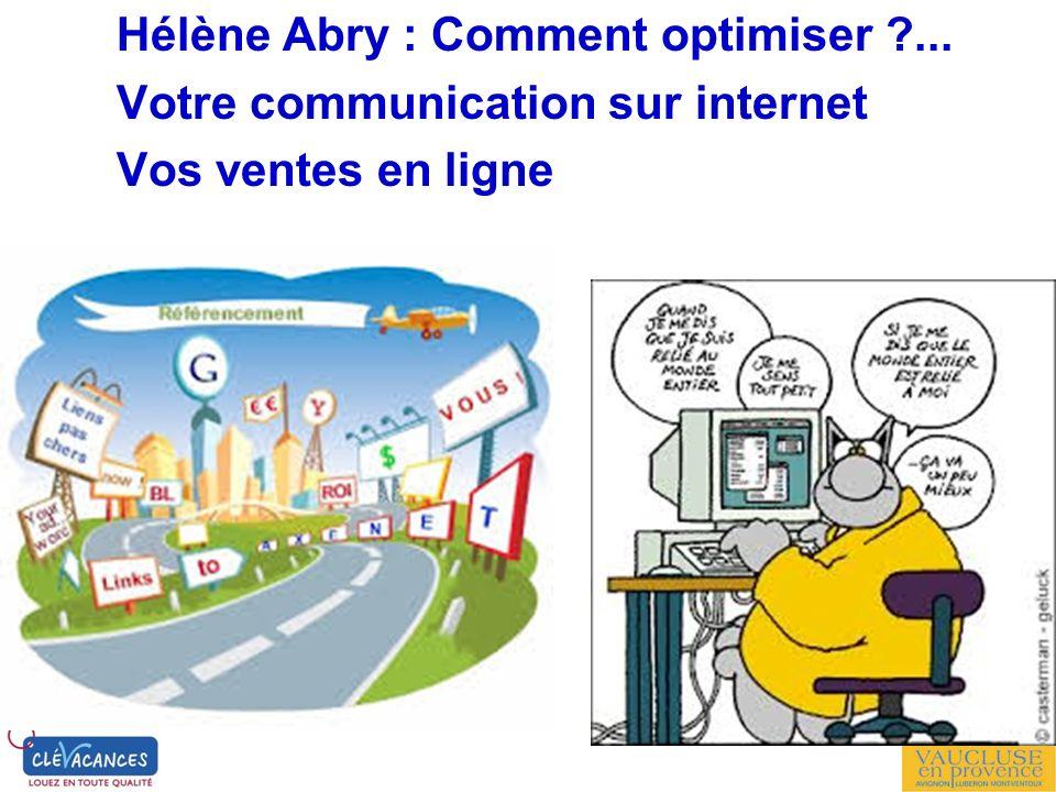 Hélène Abry : Comment optimiser ...