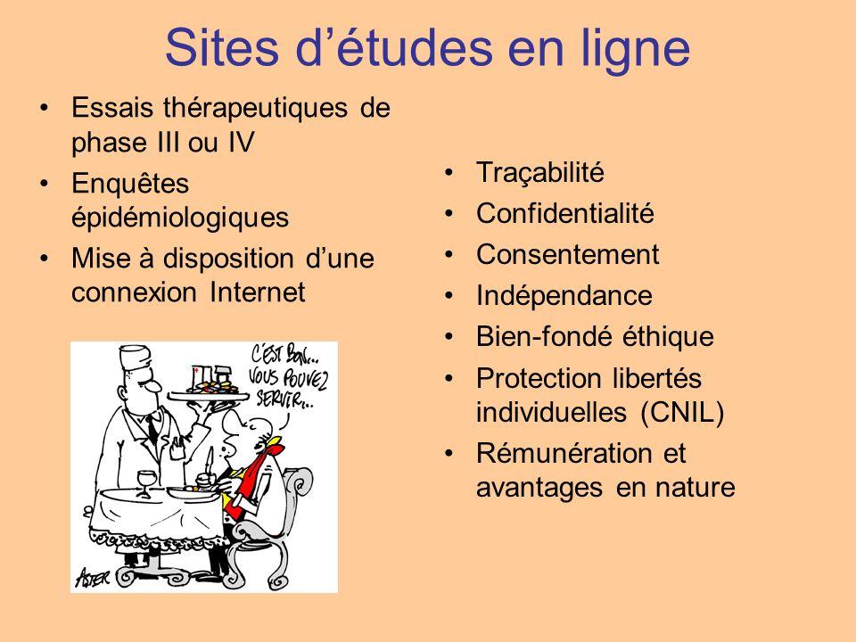 Sites d'études en ligne