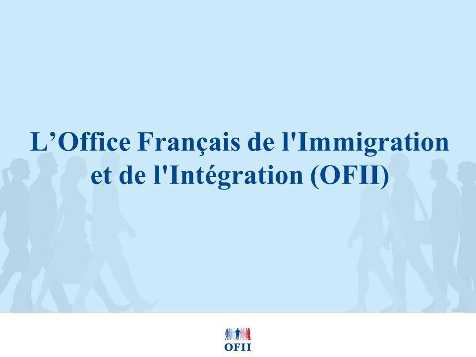 L'Office Français de l Immigration et de l Intégration (OFII)