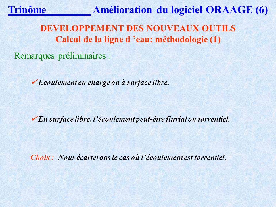 Trinôme Amélioration du logiciel ORAAGE (6)