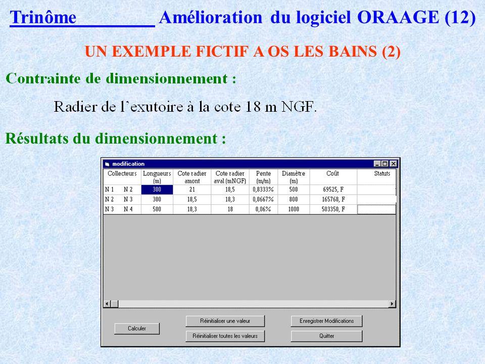Trinôme Amélioration du logiciel ORAAGE (12)