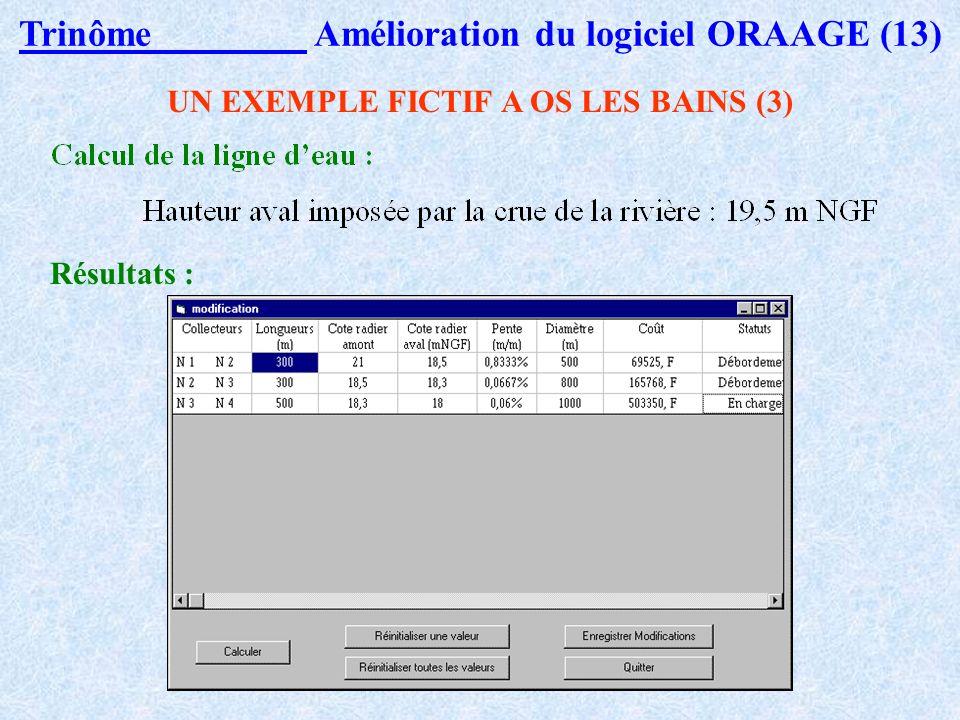 Trinôme Amélioration du logiciel ORAAGE (13)