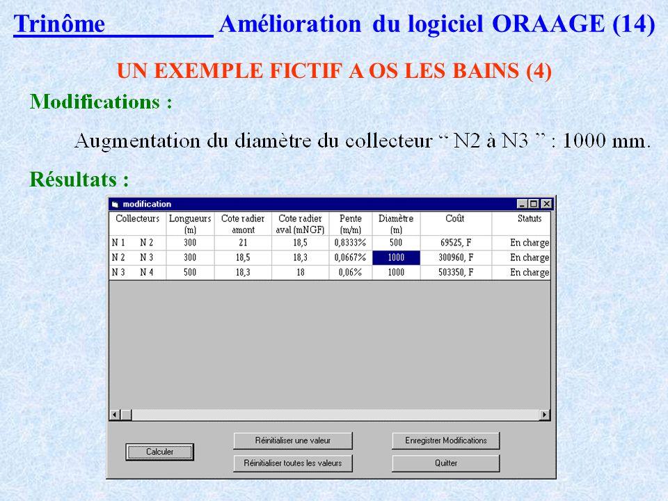 Trinôme Amélioration du logiciel ORAAGE (14)