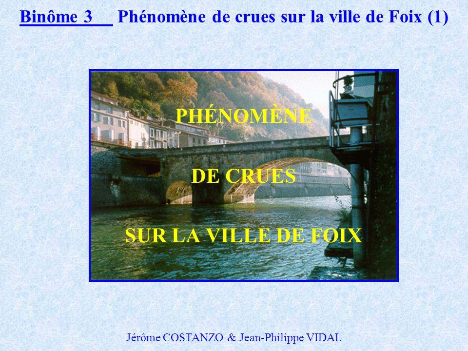 Binôme 3 Phénomène de crues sur la ville de Foix (1)