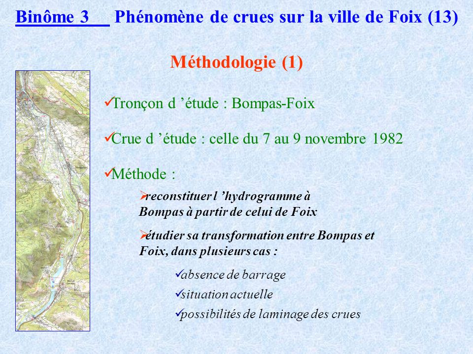 Binôme 3 Phénomène de crues sur la ville de Foix (13)