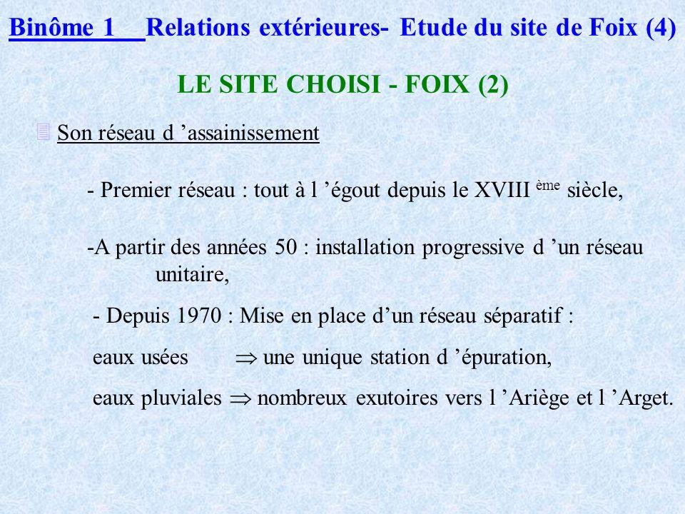 Binôme 1 Relations extérieures- Etude du site de Foix (4)