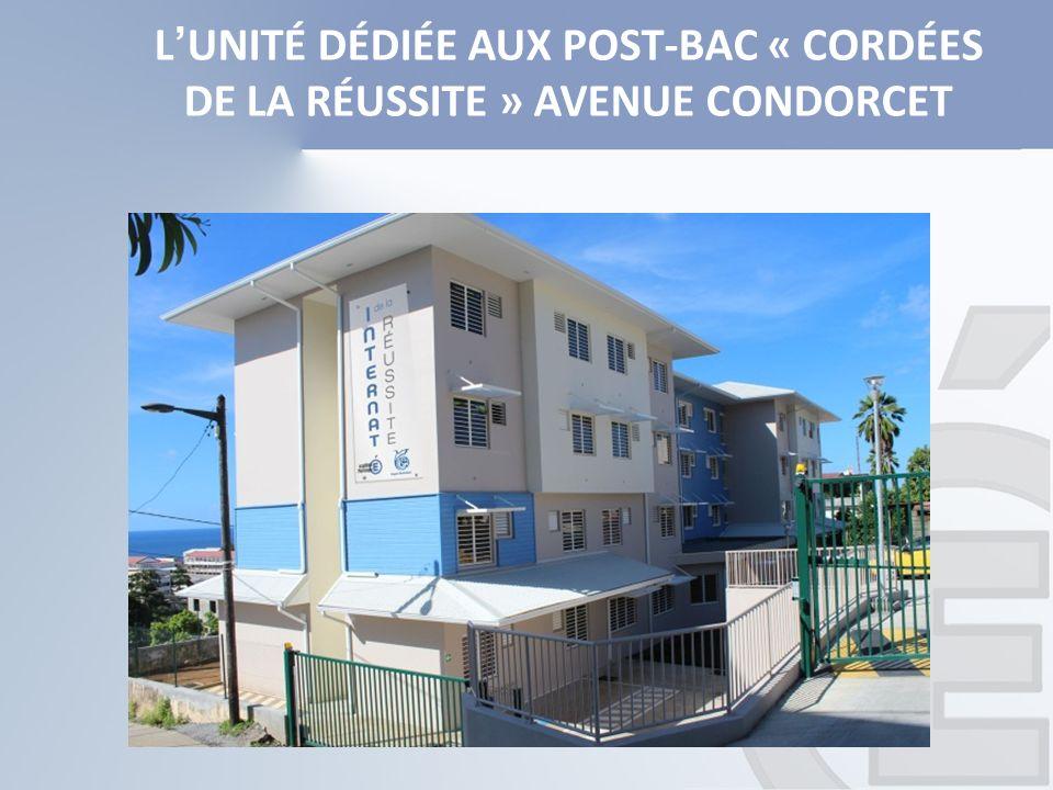 L'UNITÉ DÉDIÉE AUX POST-BAC « CORDÉES DE LA RÉUSSITE » AVENUE CONDORCET