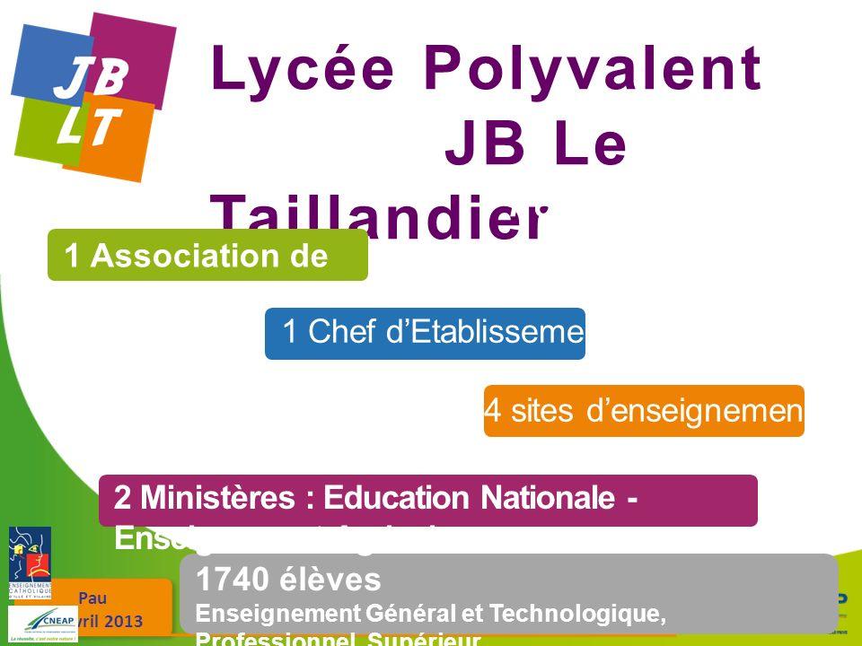 Lycée Polyvalent JB Le Taillandier Fougères en Bretagne