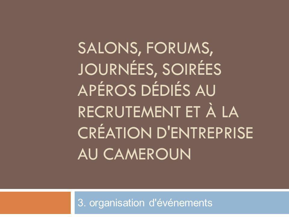 3. organisation d événements