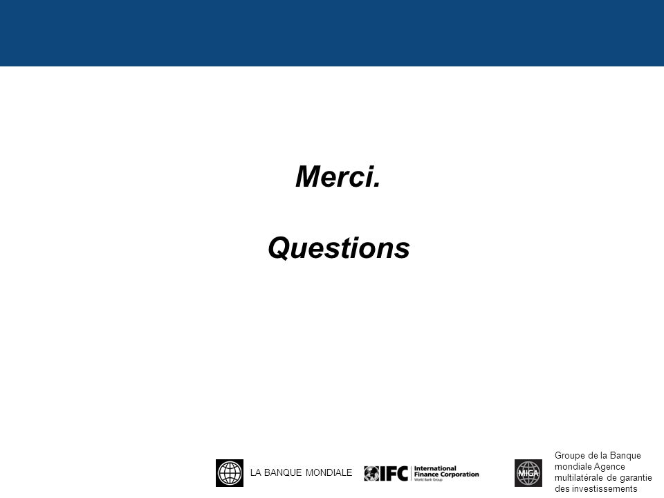 Merci. Questions