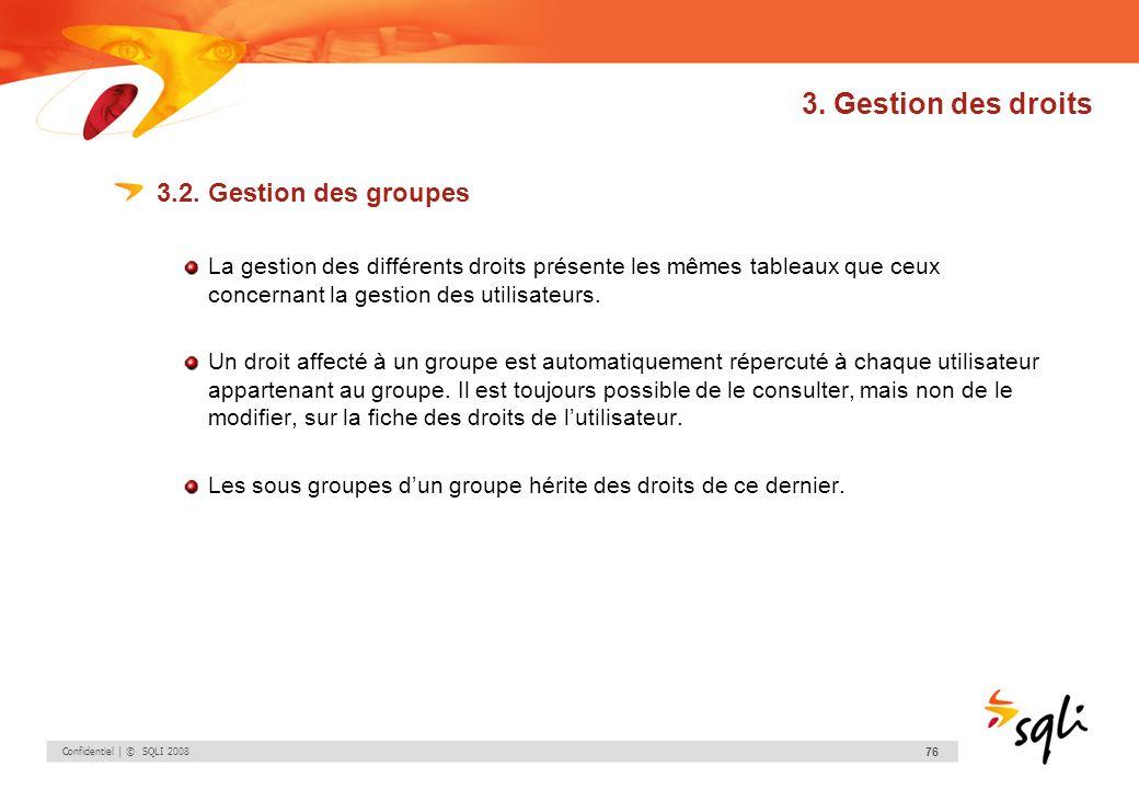 3. Gestion des droits 3.2. Gestion des groupes