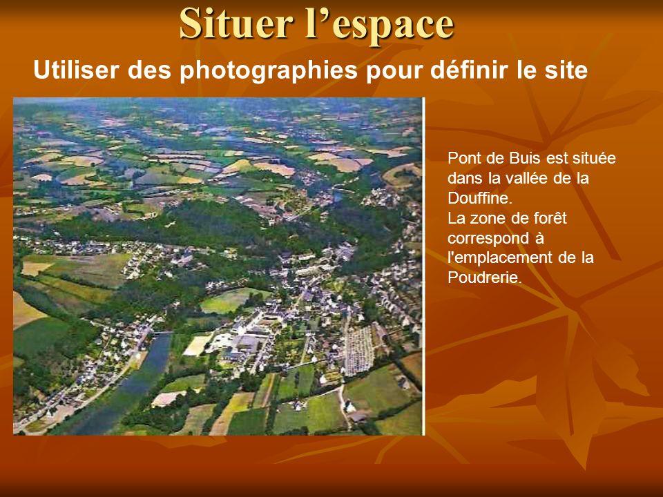 Situer l'espace Utiliser des photographies pour définir le site