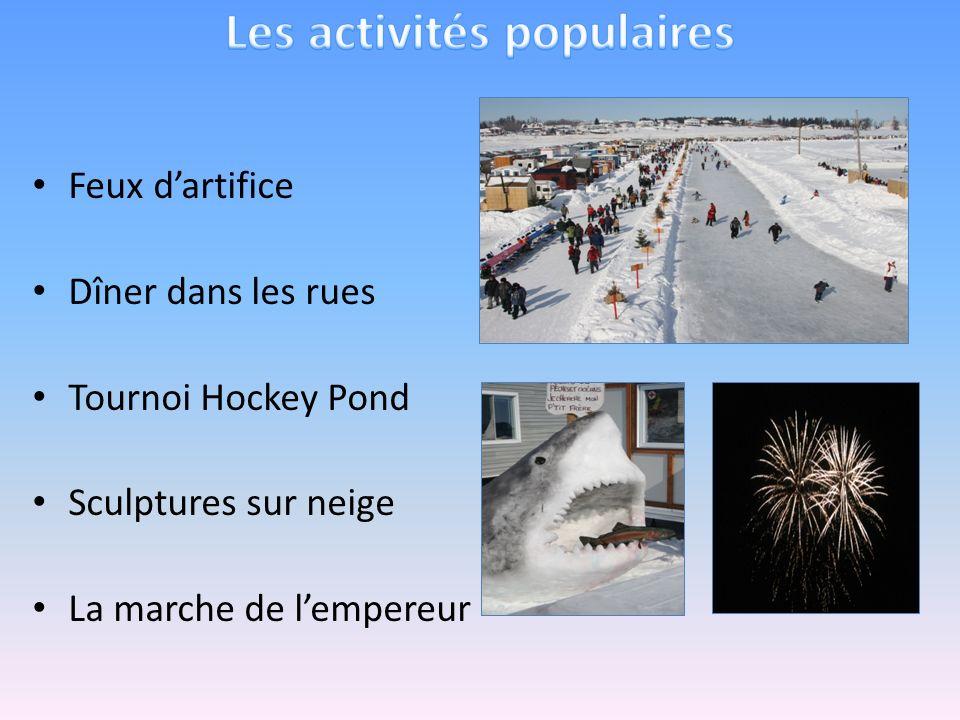 Les activités populaires