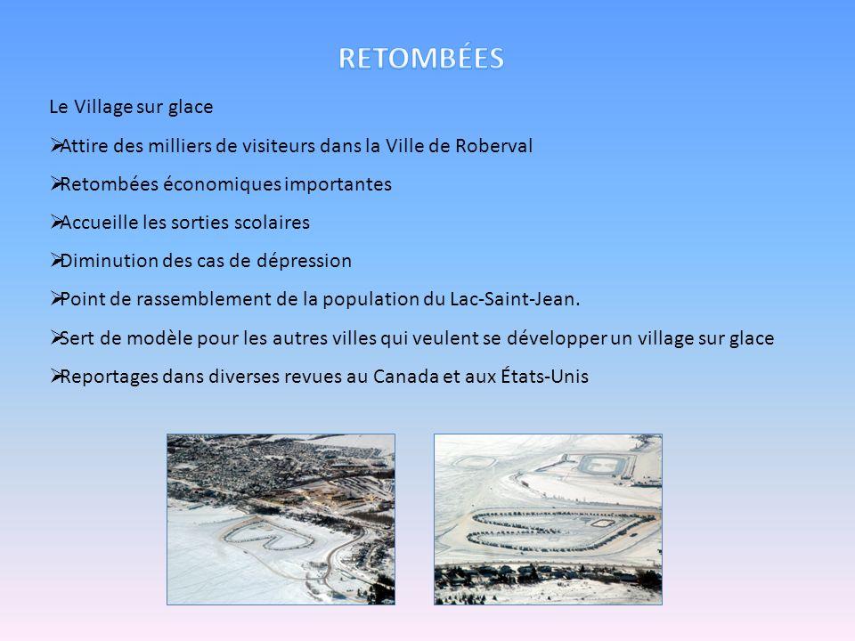 Retombées Le Village sur glace
