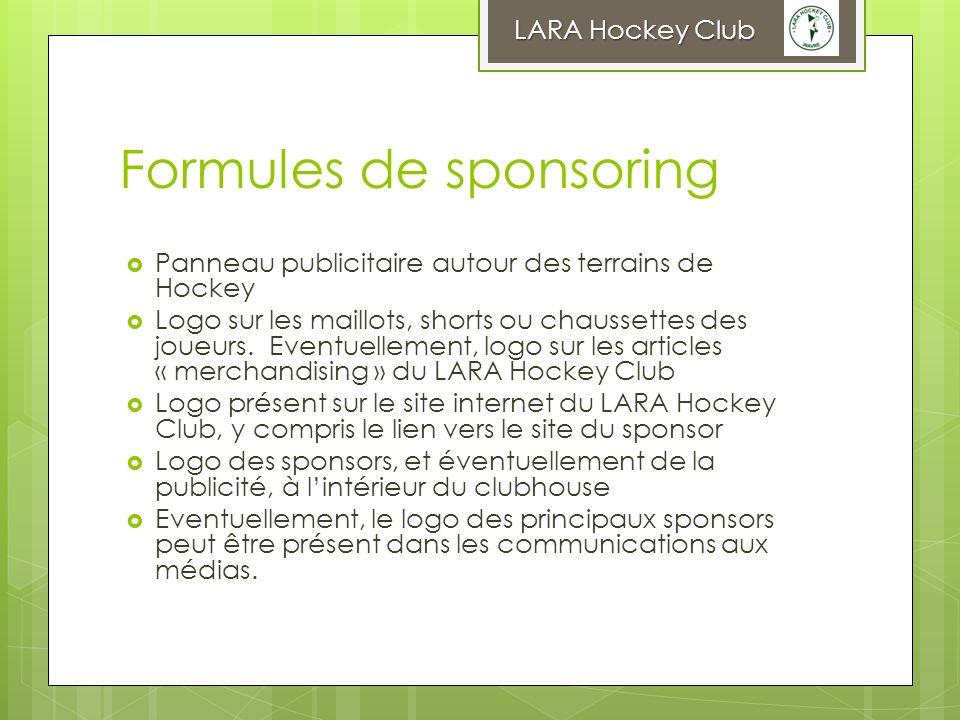 Formules de sponsoring