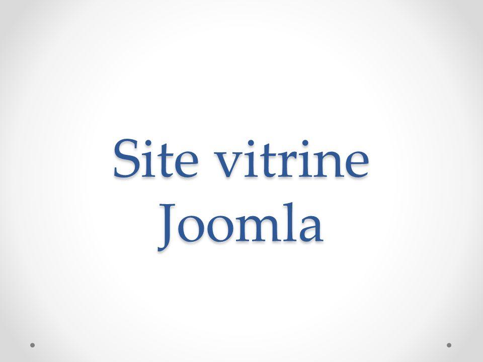 Site vitrine Joomla