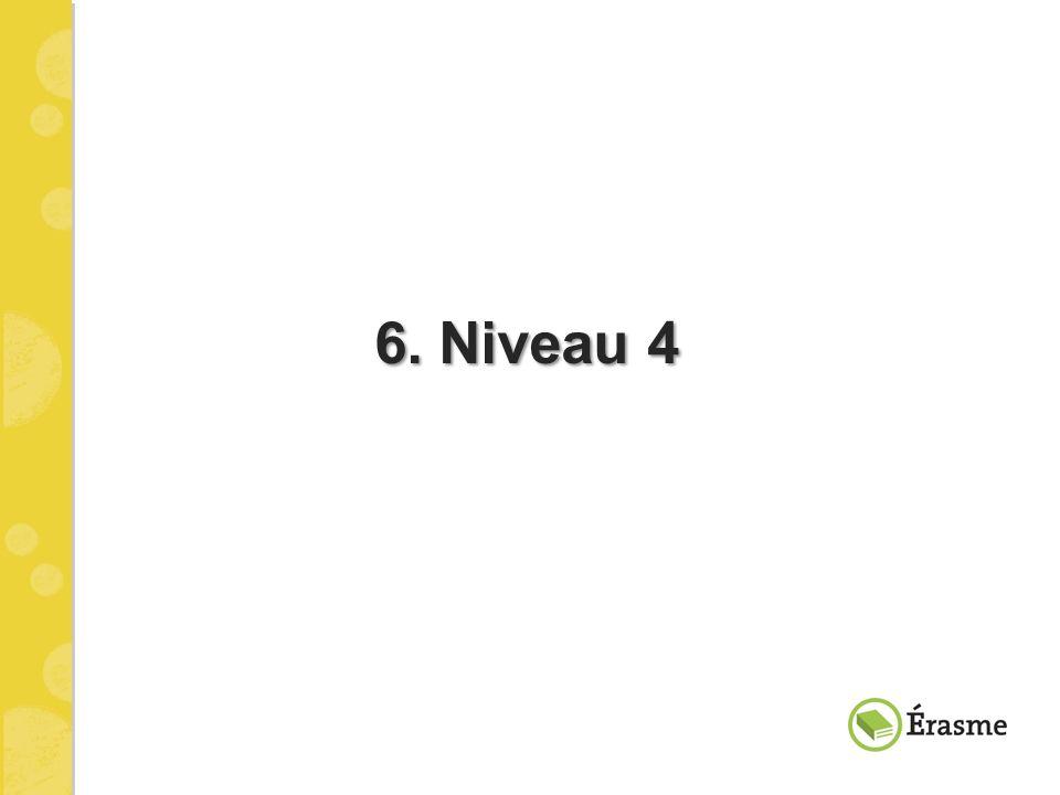6. Niveau 4