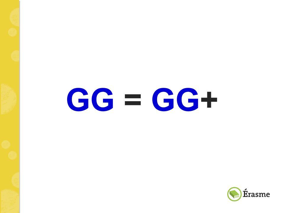 GG = GG+ En quoi est-ce que Gr@ag gedaan est équivalent à Gr@ag gedaan Plus