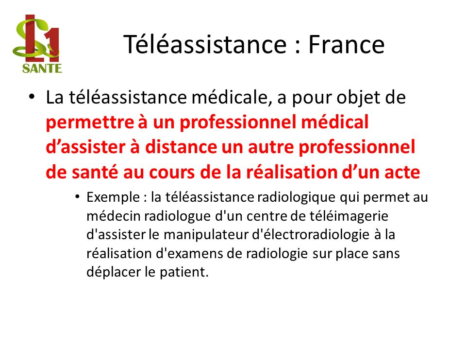 Téléassistance : France