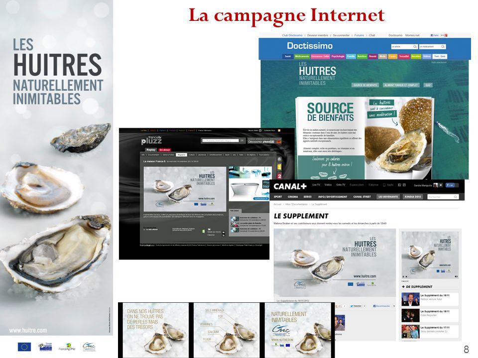 La campagne Internet