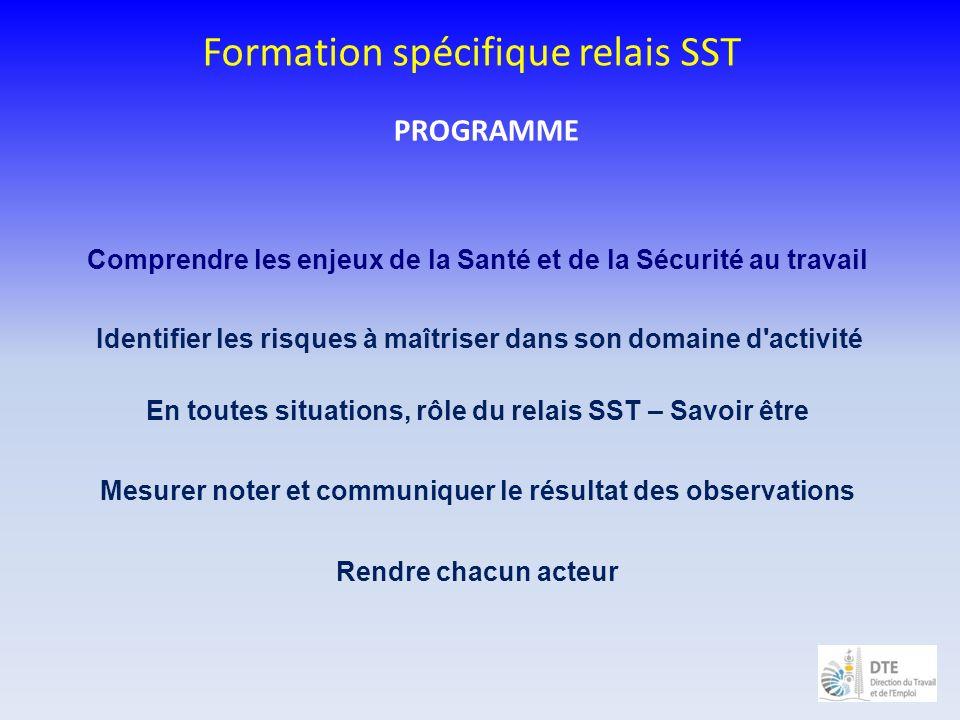 Formation spécifique relais SST