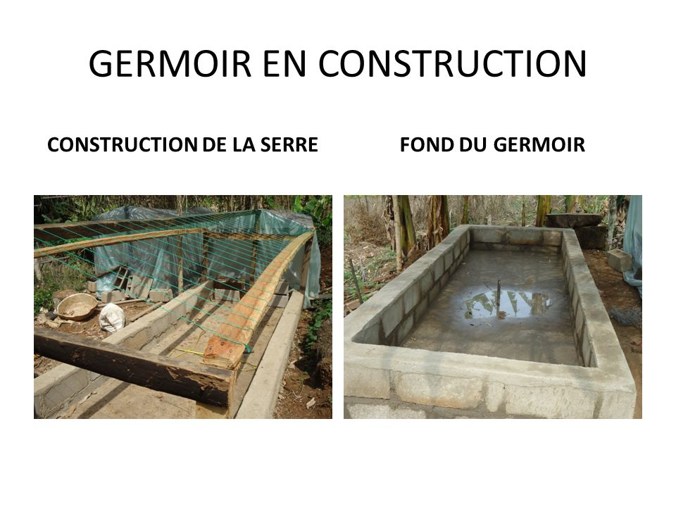GERMOIR EN CONSTRUCTION