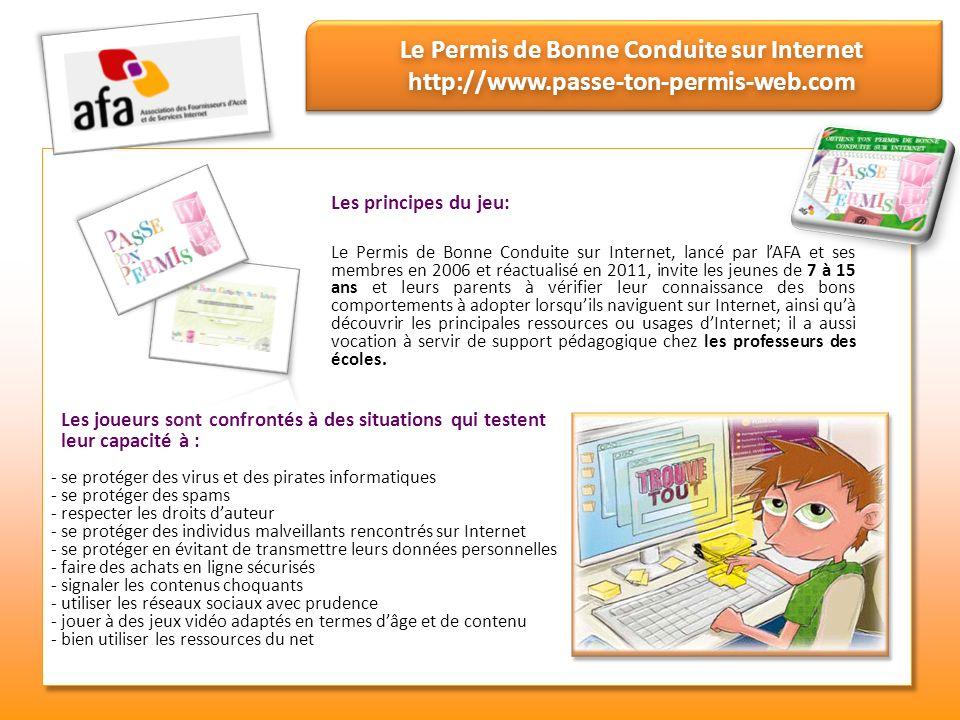 Le Permis de Bonne Conduite sur Internet http://www