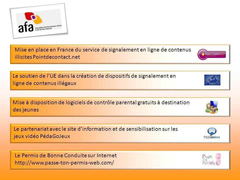 Mise en place en France du service de signalement en ligne de contenus